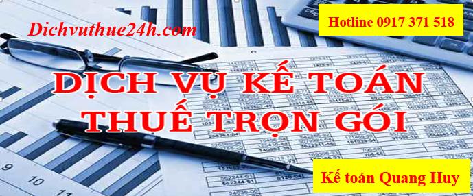 Dịch vụ kế toán cho công ty có vốn đầu tư nước ngoài của Quang Huy